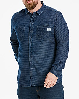 Fenchurch Turnover Dobby Shirt Long