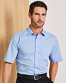 Double Two Fresh Blue Short Sleeve Shirt