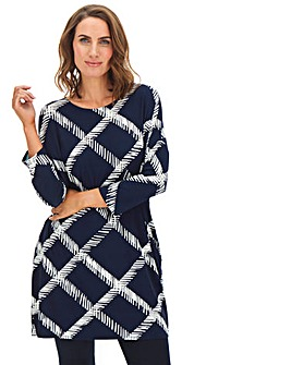 Navy Side Pocket Tunic