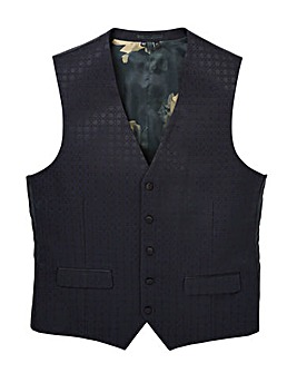 Black Label Jaquard Party Waistcoat R