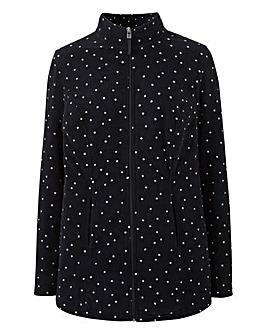 Polka Dot Fleece Jacket
