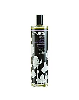 Lazy Cow Soothing Bath  Body Oil
