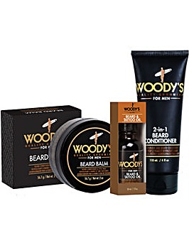 Woody's Beard Treatment Set