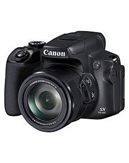 Canon PowerShot SX70 HS Camera Black