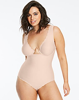 Figleaves Curve The Luxe Blush Smoothing Medium Control Moulded Wired Body