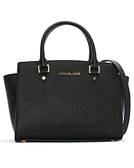 Michael Kors Large Winged Satchel Bag