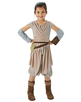 Star Wars Deluxe Rey Dlx Lg + Free Gift