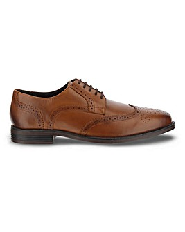 Crompton Leather Brogue EW Fit