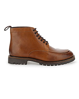 Hardy Leather Seam Boot Extra Wide Fit