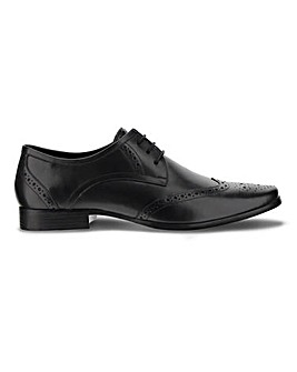 Parker Leather Formal Brogue Extra Wide Fit