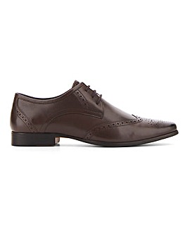 Parker Leather Brogue Standard Fit