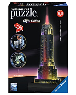 Empire State Building Night 3D Puzzle