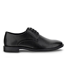 Leather Look Derby Shoe Standard Fit