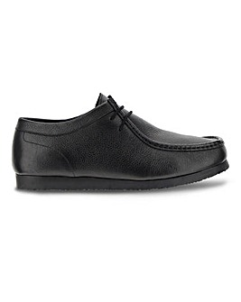 Leather Wallabee Wide Fit