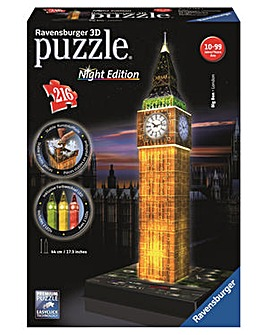 Big Ben with Light 3D Puzzle 216 Piece