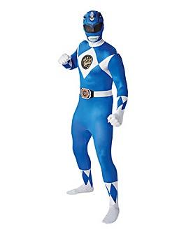 Power Rangers Blue 2nd Skin Jumpsuit