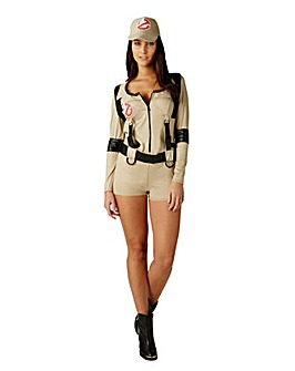Ladies Ghostbuster Jumpsuit Costume