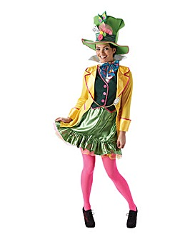 Adult Ladies Mad Hatter Costume