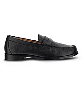 Classic Leather Loafer Wide Fit