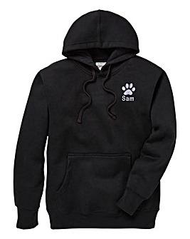 Personalised Dog Walking Hoodie