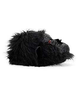 3D Gorilla Head Slippers