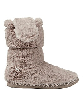 Joules Super Soft Faux Fur Slipper Sock