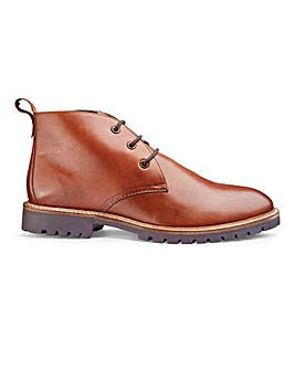 Leather Rugged Chukka Boot Std Fit