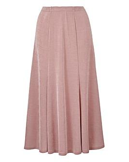 Plain Slinky Skirt Length 32in