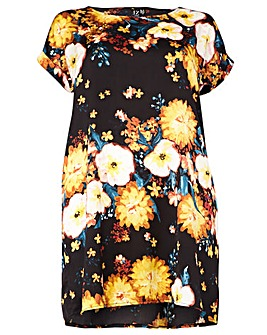 Izabel London Curve Floral