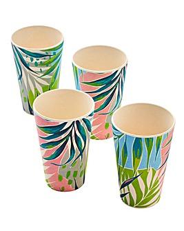 Kayan Bamboo Set of 4 Cups