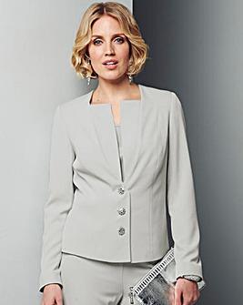 Nightingales Embellished Button Jacket