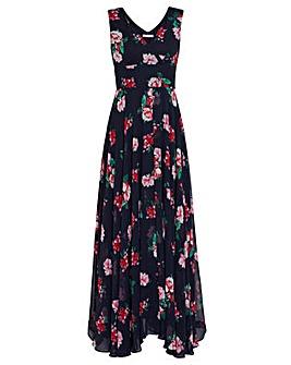 Gina Bacconi Edana Floral Maxi Dress