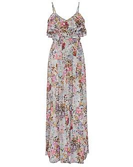 Gina Bacconi Carie Floral Maxi Dress