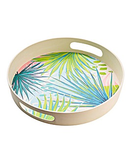 Kayan Bamboo Round Tray