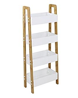 Maya Bamboo Tall Kitchen Storage Unit