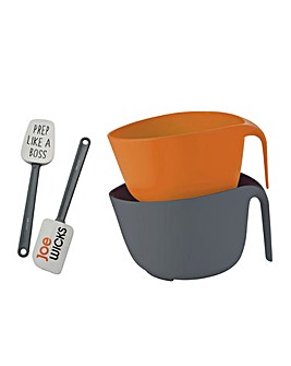 Joe Wicks 3 Piece Mix & Spatula Set