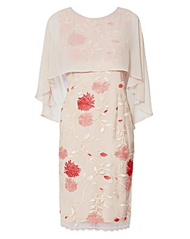 Gina Bacconi Etta Embroidered Dress