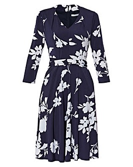 Gina Bacconi Madyn Tie Waist Dress
