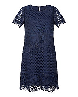 Yumi Curves Lace Tunic Dress