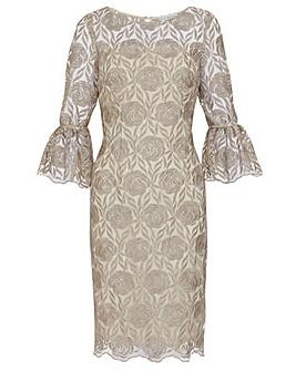 Gina Bacconi Theora Embroidery Dress 6eb68b991