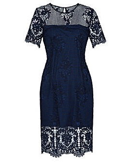 Gina Bacconi Luzetta Lace Dress