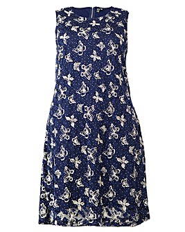 Izabel London Curve Printed Dress