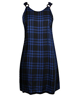 Lovedrobe GB Blue Check Dress