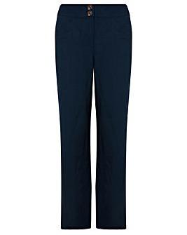 Monsoon Emma Short Linen Trouser