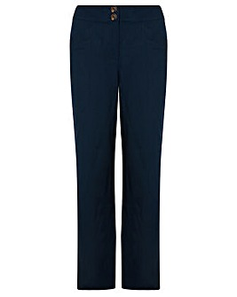 Monsoon Emma Reg Linen Trouser