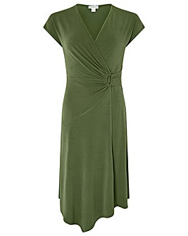 Monsoon Katy D Ring Jersey Midi Dress