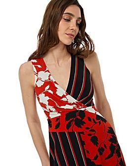 Monsoon Penelope Print Maxi Dress