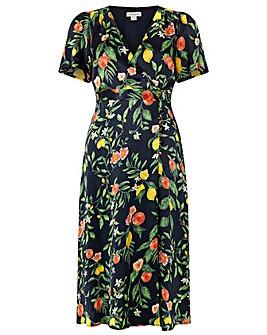 Monsoon Opal Print Tea Dress