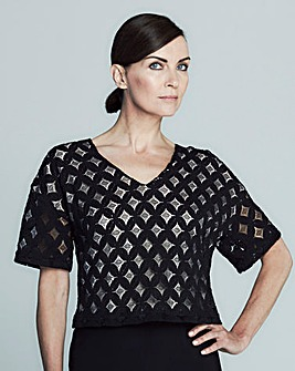 GB Edit Lace Boxy Top
