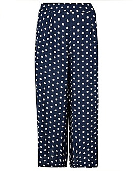 Monsoon Liza Printed Crop Trouser